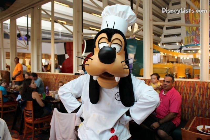 Chef Mickey's Goofy