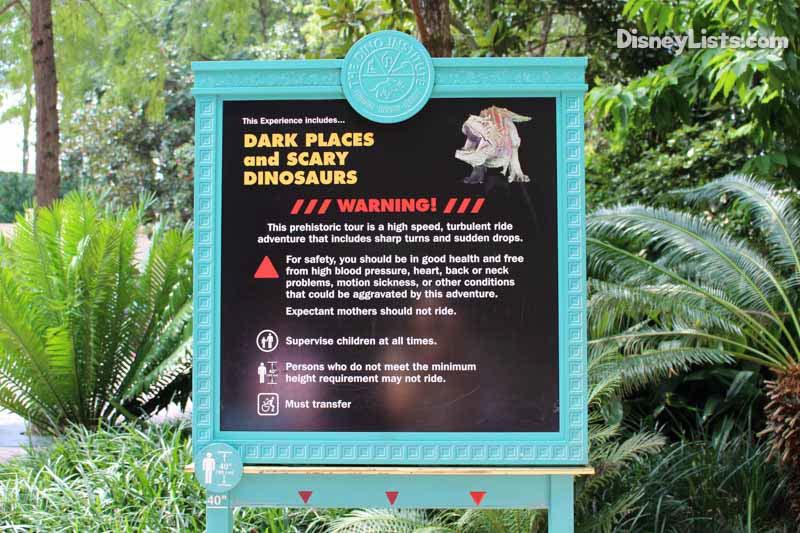 Dinosaur Warning