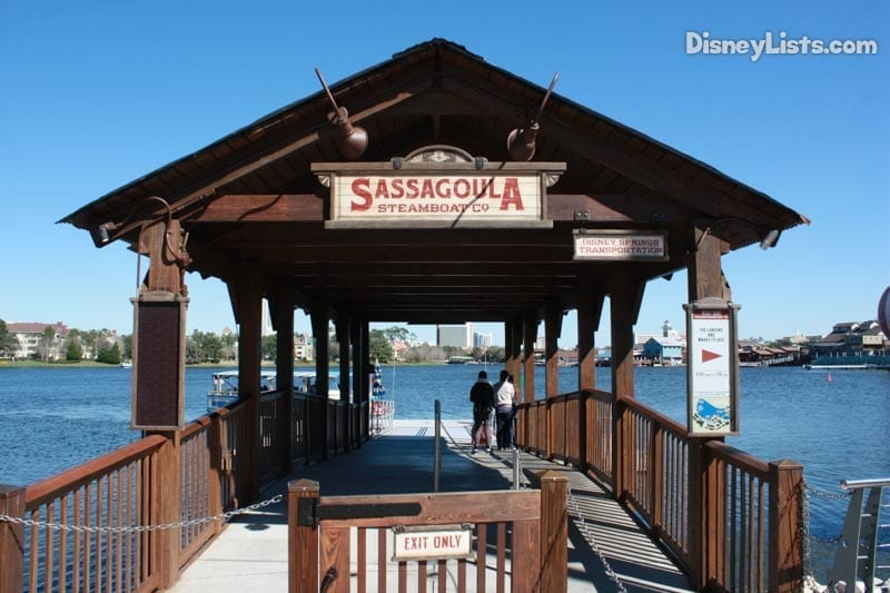 Disney Springs Water Transportation