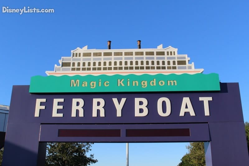 Ferry Boat sign