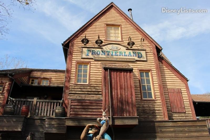 Frontierland Railroad