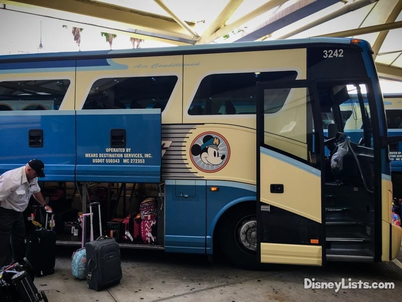 Luggage on Disney's Magical Express
