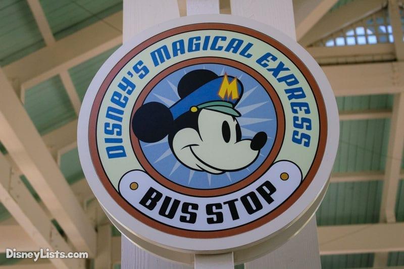Magical Express Bus Stop