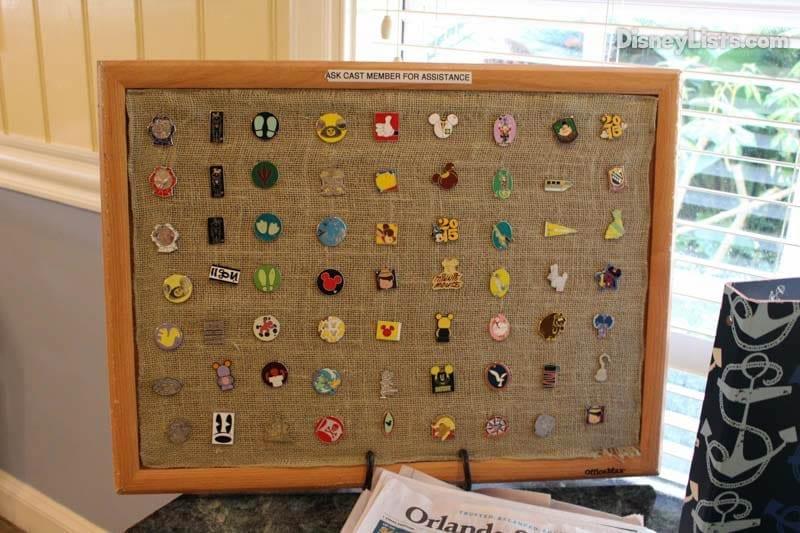 Olivia's Pin Board