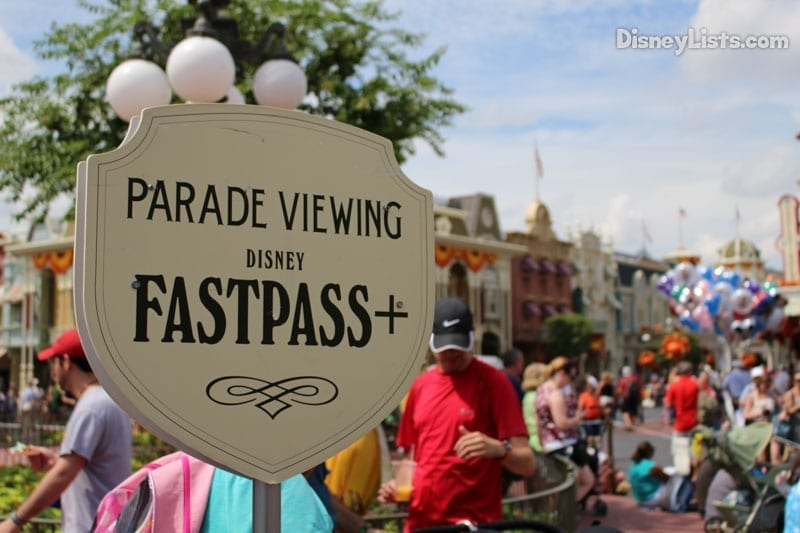 Parade Viewing FastPass