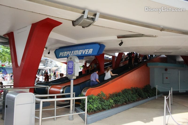 People Mover Queue