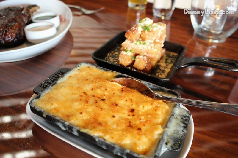 STK Orlando's famous Mac and Cheese and Parmesan Truffle Fries