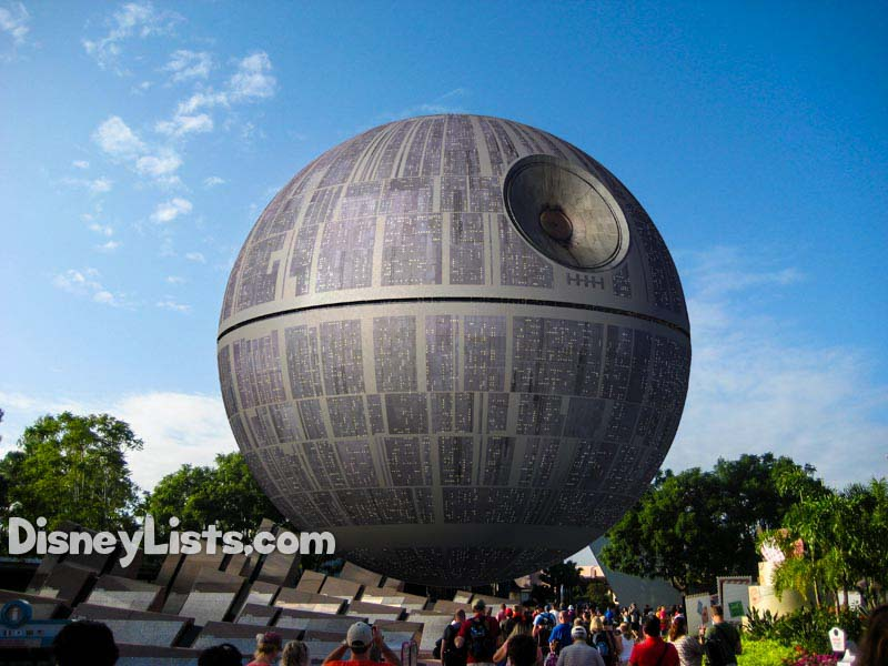 Spaceship Earth Death Star Overlay