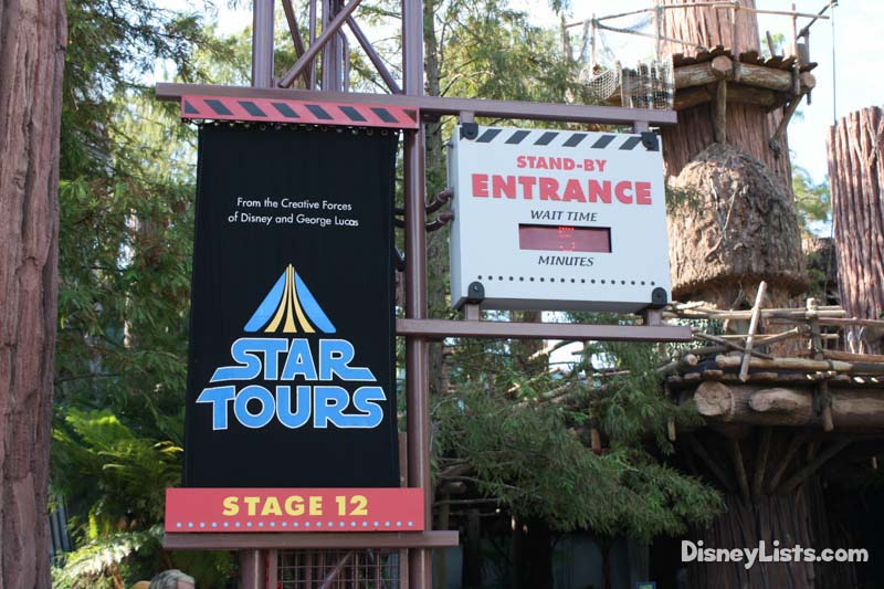 Star Tours Enterance