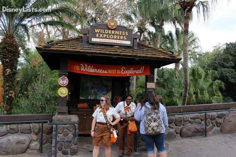 Wilderness Explorer Sign Up