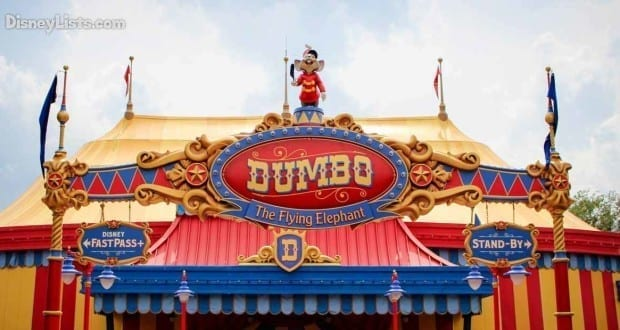 10 Facts And Secrets About Dumbo The Flying Elephant At Disney S