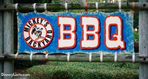 Backyard Baby Back Ribs what you need to know about mickey's backyard bbq at disney's fort