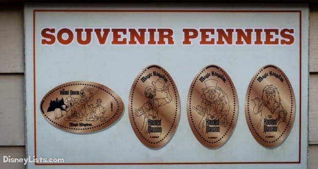 7 Tips & Tricks for Pressed Pennies at Disney World – DisneyLists com