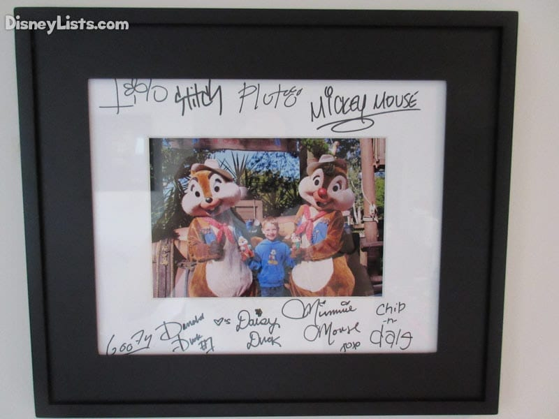 8 Great Creative Ideas for Character Autographs at Disney World ...