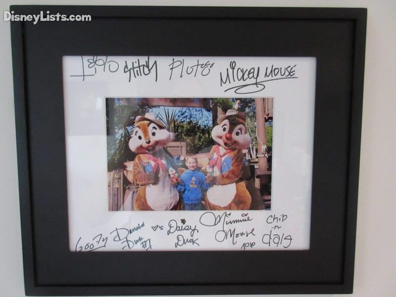 Framed Autograph
