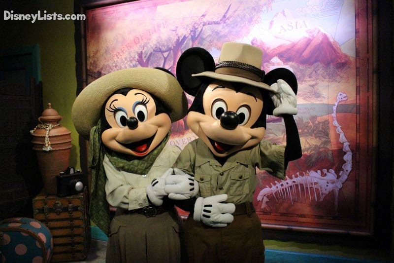 Mickey and Minne at AK