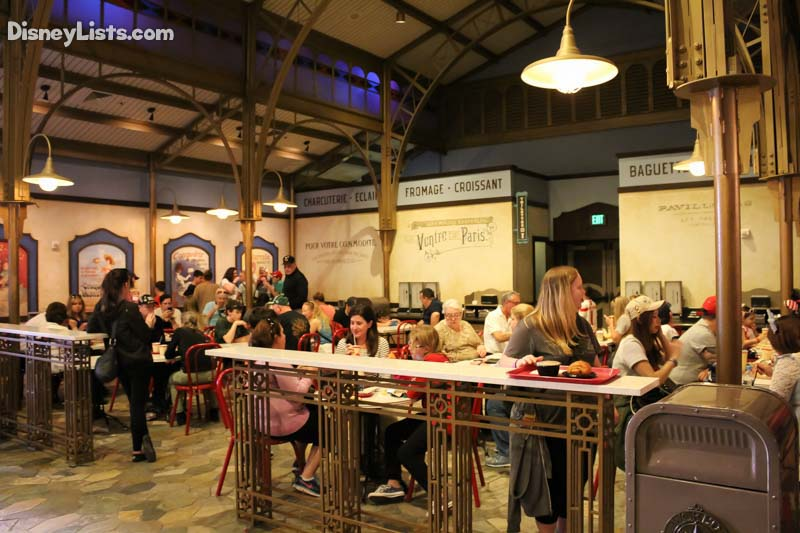 Seating Area-Les Halles