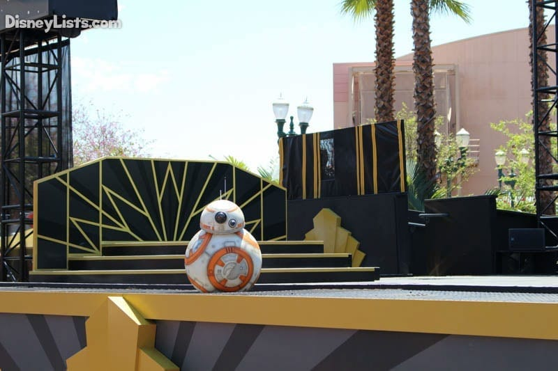 Star Wars Stage Show BB8