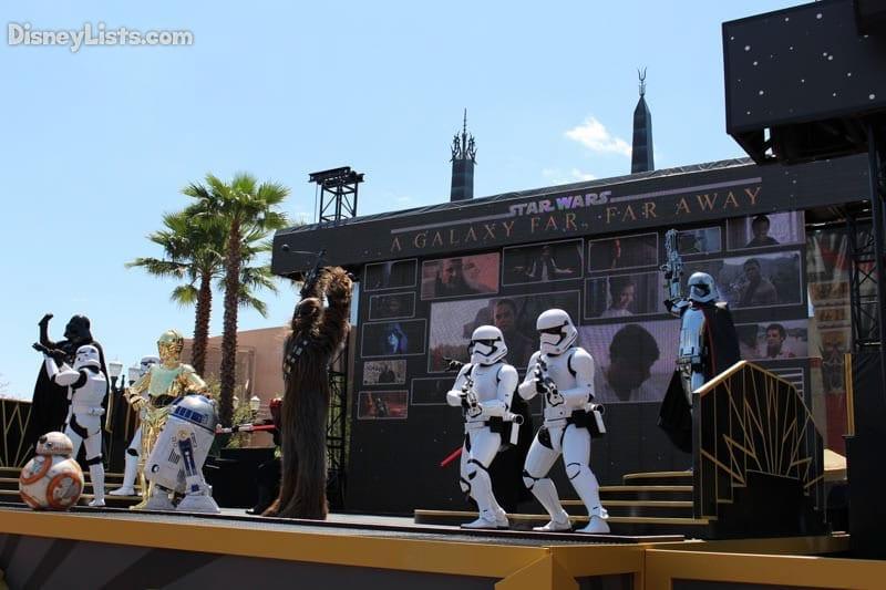 Star Wars Stage Show Finale
