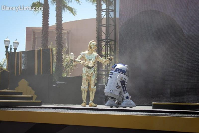 Star Wars Stage Show R2D2 C3PO