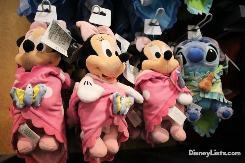 Stuffed Baby Characters
