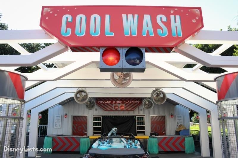 Test Track Cool Wash