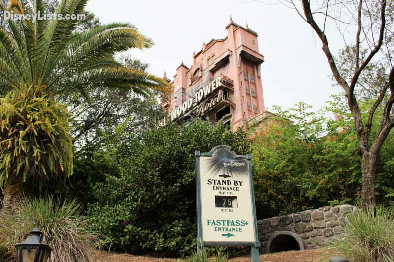 Tower of Terror Long Wait