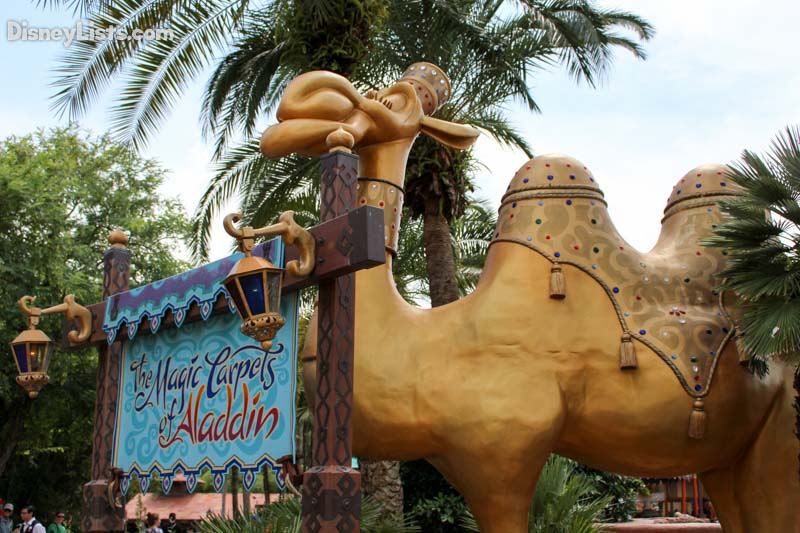 Magic Carpets of Aladdin