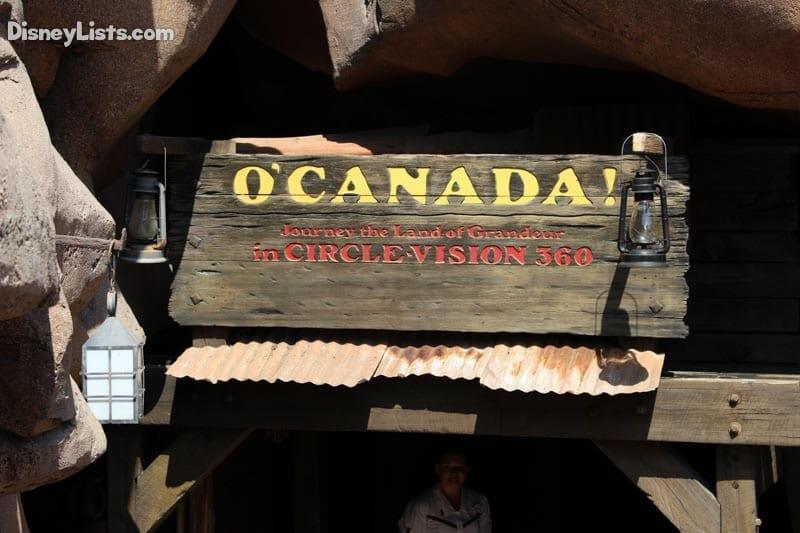 O Canada Disneylists Com