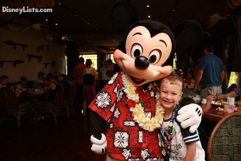 Ohana Mickey with Hawaiian Outfit