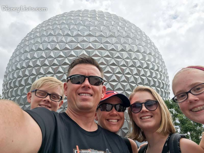 Spaceship Earth Selfie