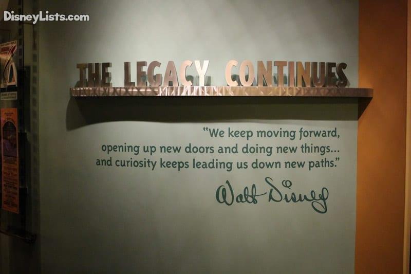 Walt's Legacy