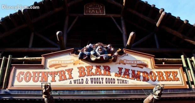 Featured-Country Bear Jamboree