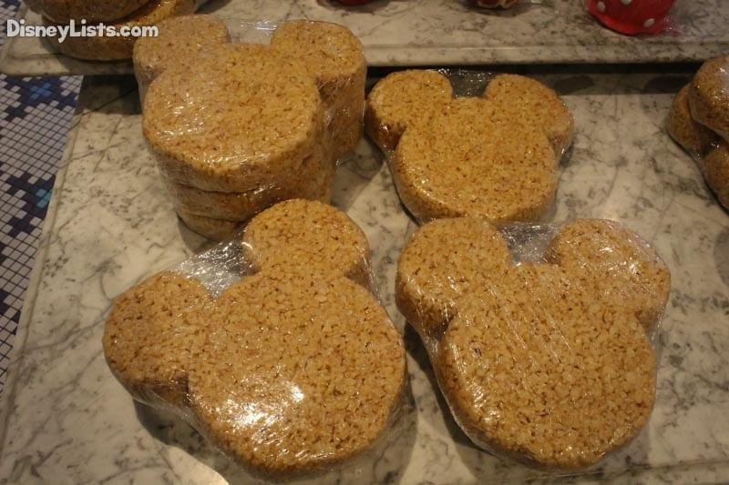 Mickey Krispy Treats