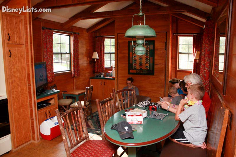 Inside the Cabins at Fort Wilderness