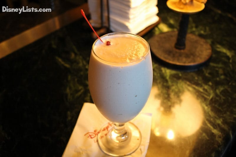 Nyami Nyami: a frozen blend of Amarula Cream and Banana Liqueur