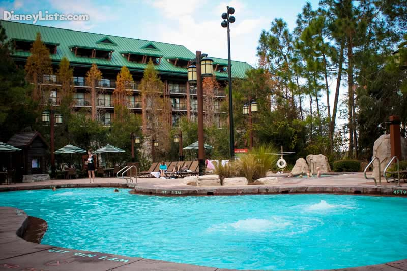 The Pool at Wilderness Lodge