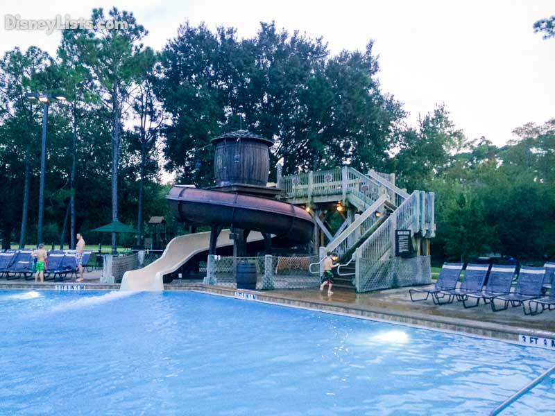 The slide at Fort Wilderness Resort & Campground