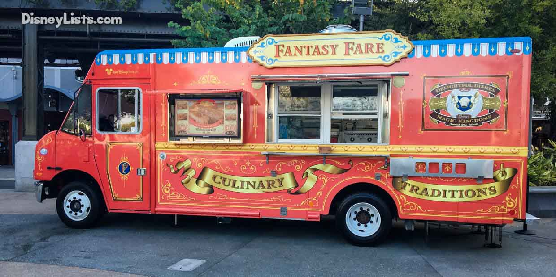 Food Trucks Disney Springs Menu