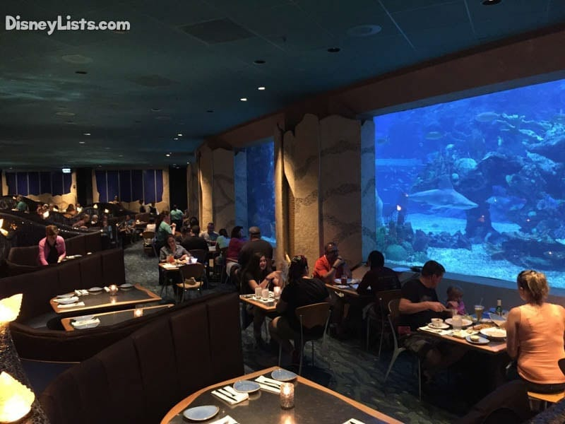 5 Things To Know About Coral Reef Restaurant At Disney S