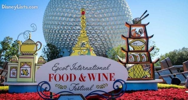 News Details On 2019 Food Wine Festival Released By