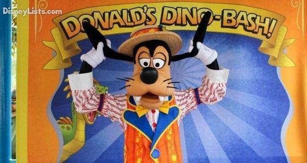 Ultimate Character Checklist 9 Places To Meet Goofy At Disney World Disneylists Com