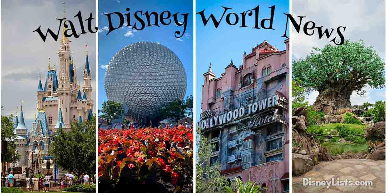 News Roundup 19 Disney World News Items Including New